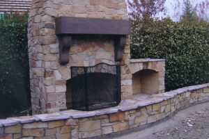 How To Build An Outdoor Fireplace Diy And Repair Guides