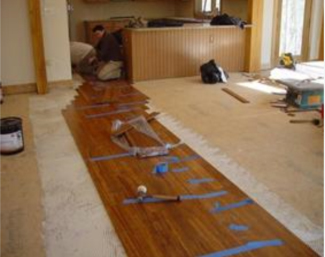 How To Install Bamboo Flooring Diy And Repair Guides