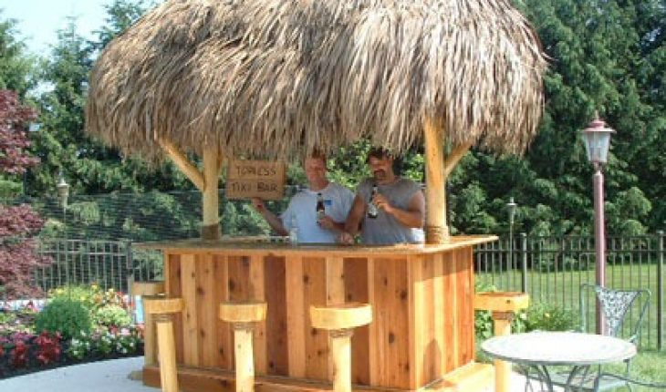 How To Build A Tiki Bar Diy And Repair Guides