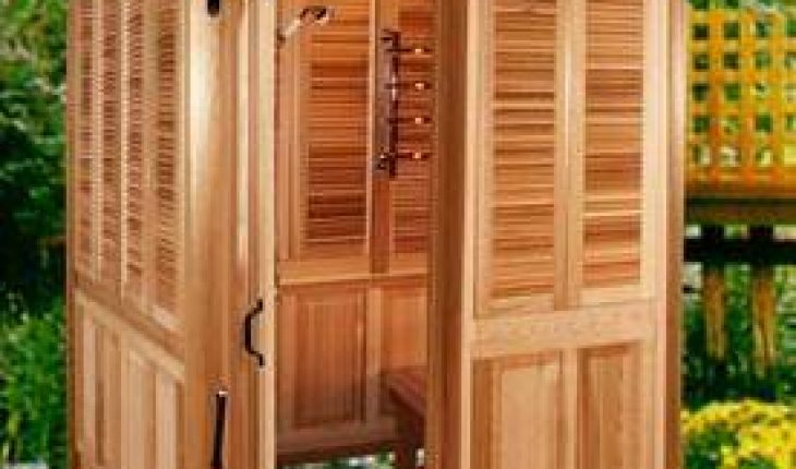 How Build Wooden Outdoor Shower Diy And Repair Guides
