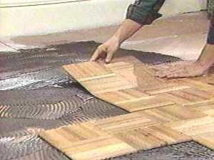 Fix a Damaged Parquet Floors