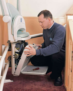 How To Install A Stair Lift Diy And Repair Guides