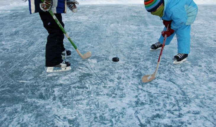 how to build an ice rink