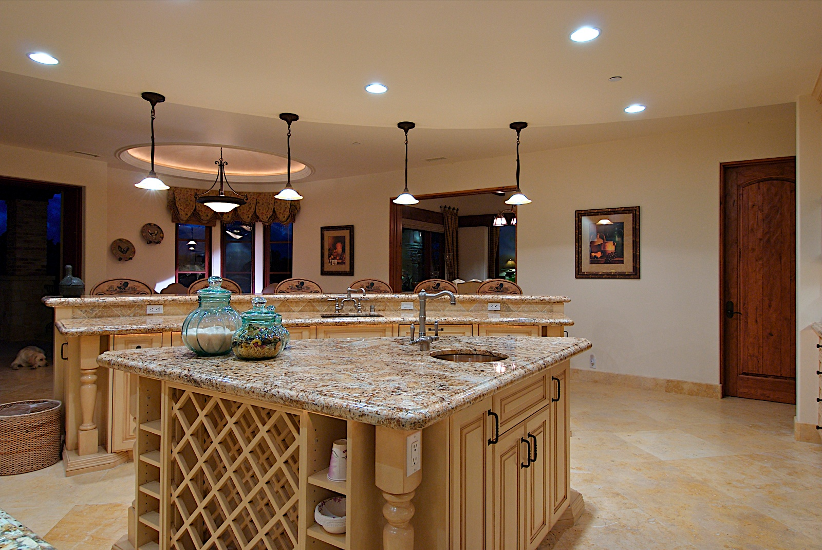 Kitchen lighting fixtures lowes home design ideas for for Kitchens u build