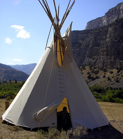 how to build a teepee diy and repair guides. Black Bedroom Furniture Sets. Home Design Ideas