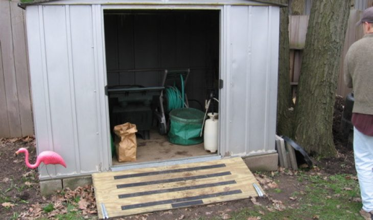 How To Build A Shed Ramp Diy And Repair Guides
