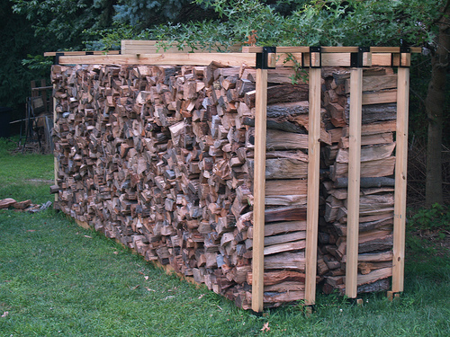 Diy Firewood Storage Rack Plans | Beginner Woodworking Project
