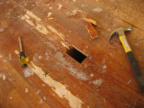 Flooring tips how to repair light scratches on a hardwood floor ask home design - Fixing wood floor swelling ...